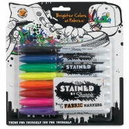 Bút Vẽ Vải Sharpie Stained Set 8