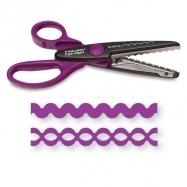 Kéo cắt giấy tạo kiểu scallop