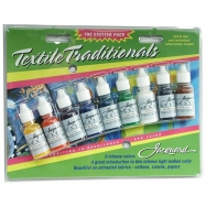 Màu vẽ vải Jacquard textile traditionals set 9