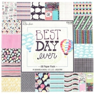 Paper pad in hoạ tiết Best Day Ever 12