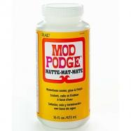Keo dán Mod Podge Matte lên gỗ và nhiều bề mặt (473ml)