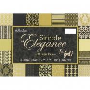 Paper Pack họa tiết Simple Elegance