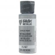 Màu metallic FolkArt Màu Bạc