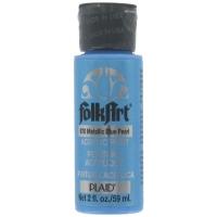 Màu metallic FolkArt Blue Pearl