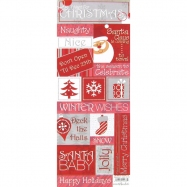 Cardstock sticker chủ đề All I Want For Christmas