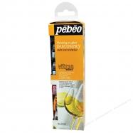 Màu vẽ thủy tinh Pebeo vitrea set 6x20ml glossy