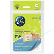 Gói keo dán 2 mặt Glue Dots hình tròn 252 miếng
