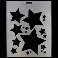Stencil hình ngôi sao