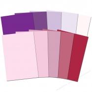 Cardstock A4 màu hồng- tím