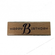 Dấu in chữ Happy Birthday