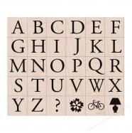 Dấu in bảng chữ cái