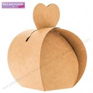 Hộp quà valentine mẫu tim (12 cái)