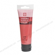 Màu acrylic Sakura - Đỏ 75ml