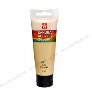 Màu acrylic Sakura - Gold 75ml
