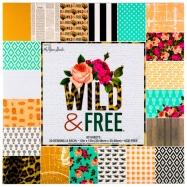 Paper pad in họa tiết Wild & Free 12
