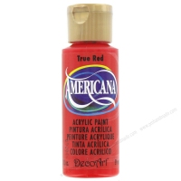 Màu acrylic Americana - True Red