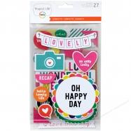 Bộ hình dán mẫu Confetti Edition 27 miếng