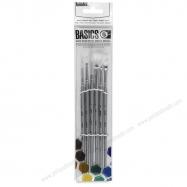 cọ rubens, rubens 330 No.00, rubens art brush, cọ vẽ line, rubens brush, cọ vẽ màu nước, cọ acrylic, Cọ vẽ Liquitex Basics set 6