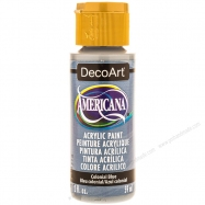 giấy kim tuyến, giấy kim tuyến màu bạc, Màu acrylic Americana xanh Colonial