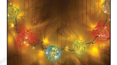 Làm quả cầu phát sáng hình trứng