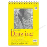 Tập giấy vẽ Strathmore Drawing 300 (50 tờ)