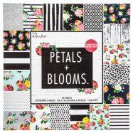 Paper pad in hoạ tiết hoa và lá 12