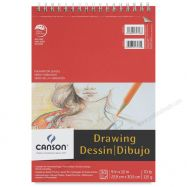Tập giấy vẽ Canson Foundation 9