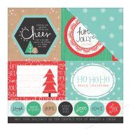 Paper pad 2 mặt in hình Giáng Sinh 12