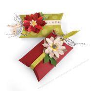 Paper pack, giấy làm scrapbook, giấy làm thiệp, giấy in hình, giấy in họa tiết, giấy in 2 mặt, giấy bìa, giấy mỹ thuật, Khuôn cắt Sizzix Thinlits mẫu hộp và hoa
