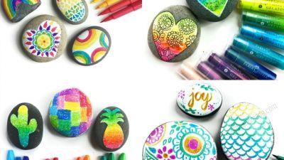 3 cách vẽ đá tuyệt đẹp bằng bút Faber Castell tại shop PM