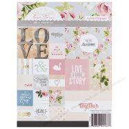Paper pad mẫu Love Story 6