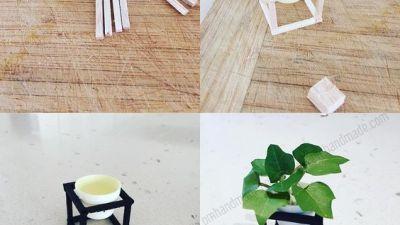 Cùng nhau làm đồ handmade mini furniture nào !!