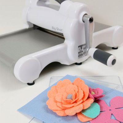 Hướng dẫn cắt hoa vải từ máy cắt Sizzix