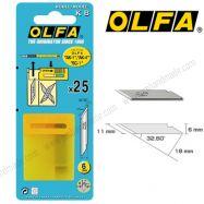 Lưỡi dao OLFA KB hộp 25 lưỡi