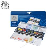 Màu nước Winsor & Newton Cotman blue box set 12