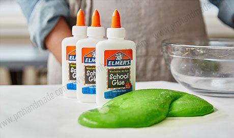 DIY SLIME by Elmer's glue