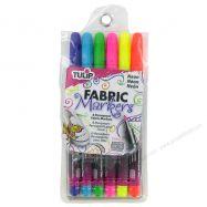 Bút vẽ vải Tulip set 6 màu Neon