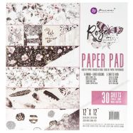 Paper pad in hình Rose Quartz 12