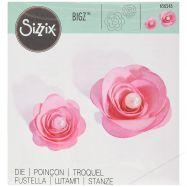 Khuôn cắt Sizzix Bigz Dies mẫu 2 hoa hồng 3D