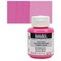 Liquitex Soft Body màu Medium Magenta