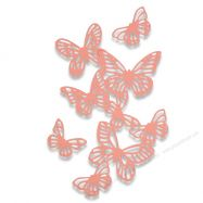 Khuôn cắt Sizzix dãy hình bướm
