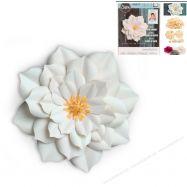 Khuôn cắt Sizzix mẫu hoa Lily size Lớn