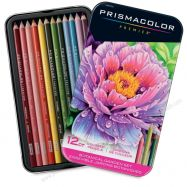 Set chì vẽ Prismacolor Botanical 12 màu