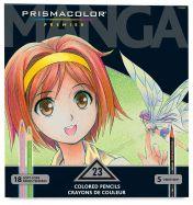 Set chì vẽ Prismacolor Manga 23 màu