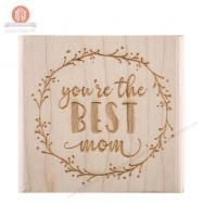 Dấu in chữ You're The Best Mom