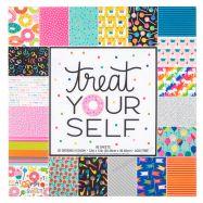 Paper pad mẫu sắc màu & bánh 12