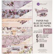 Paper pad mẫu Lavender 12