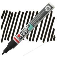Bút Vẽ Sứ Thủy Tinh Marabu Màu Đen