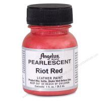Màu vẽ vải da Angelus Pearlescent - Red