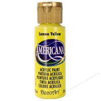 Màu acrylic Americana vàng Lemon